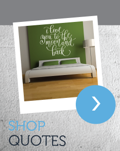 Shop Wall Sticker Quotes