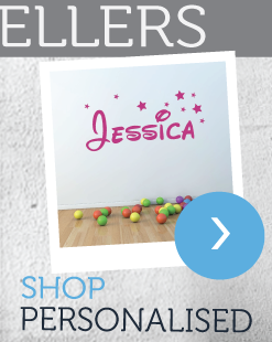 Shop Personalised Wall Stickers