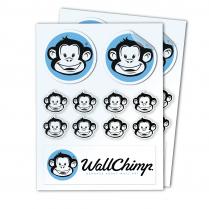 A4 Sticker Sheet - Clear