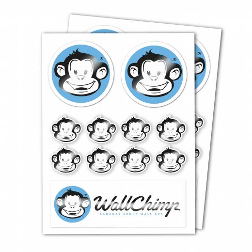 A4 Sticker Sheet - Matt Gloss