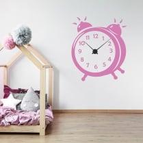 Alarm Clock Wall Sticker
