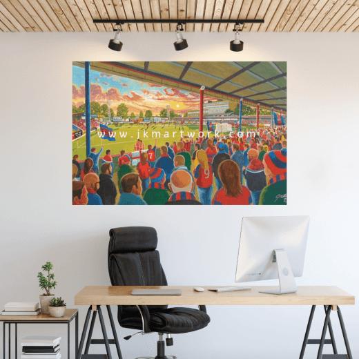 Aldershot, EBB Stadium Football Ground Wall Sticker