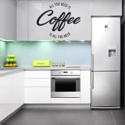 All You Need Is Coffee Wall Sticker