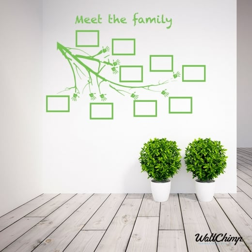 Amanda Riley Little Trees Nurseries Meet The Family Branch & Frames WC524QT