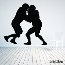 American Football Wall Sticker