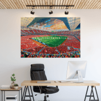 Arsenal, Amirates Stadium Football Ground Wall Sticker