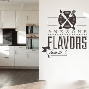 Awesome Kitchen Wall Sticker Quote