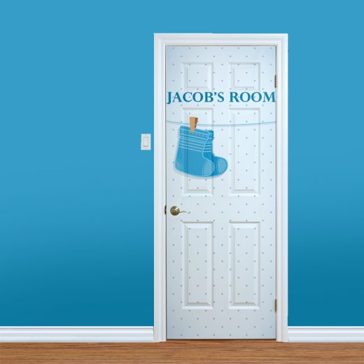 WallChimp Baby Boys Custom Bedroom Door