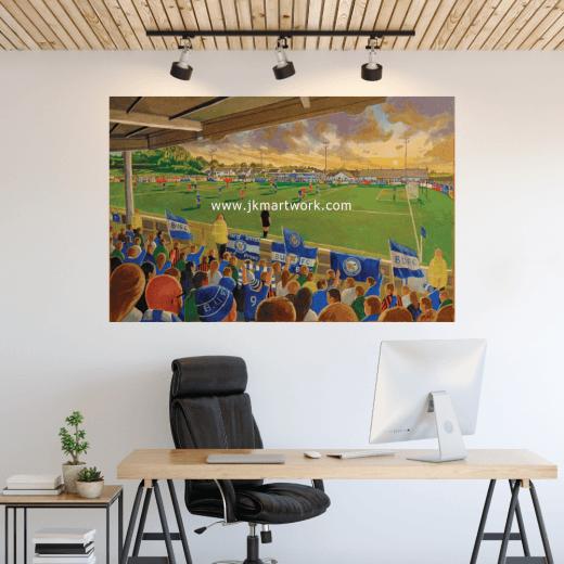 Ballinamallard United, Ferney Park Football Ground Wall Sticker