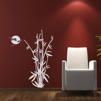 Bamboo Garden Wall Sticker