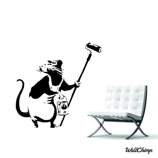 Banksy High Roller Wall Sticker