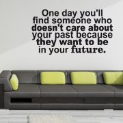 Be In Your Future Wall Sticker Quote