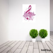 Beckie Morley Musical Moments Logo Wall Sticker WC537QT