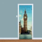 Big Ben London Printed Door