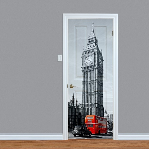 Big Ben London Printed Door