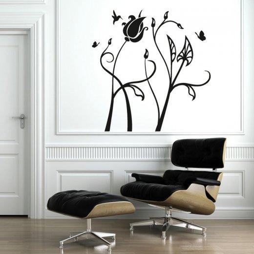 Birds & Flowers Wall Sticker