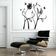 Birds & Flowers Wall Sticker