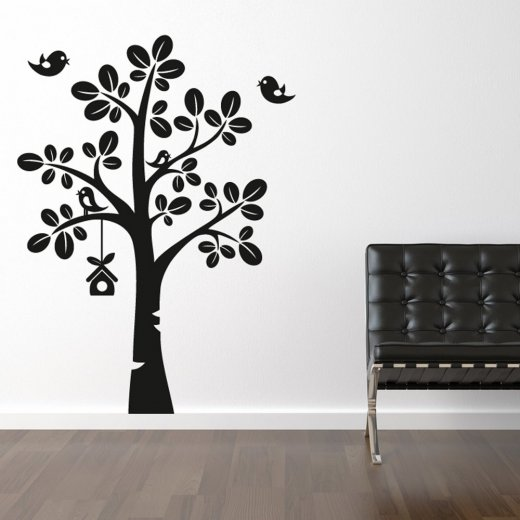 Birds Tree Wall Sticker