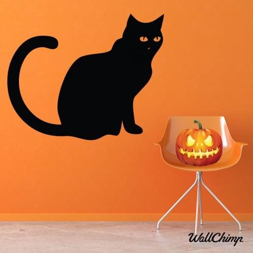 Black Cat Wall & Window Sticker