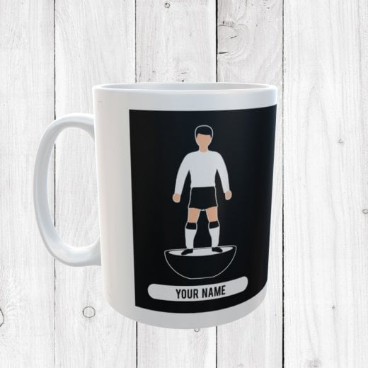 Black & White Football Mug