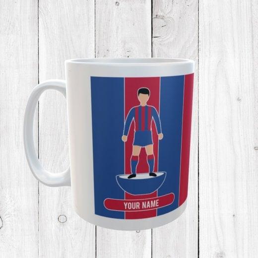 Blue & Red Football Mug