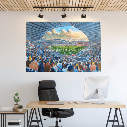 Bolton Wanderers, Macron Stadium Football Ground Wall Sticker