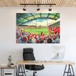 Brentford, Griffin Park Football Ground Wall Sticker