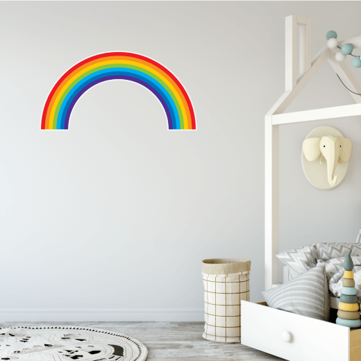 Bright Rainbow Wall Sticker