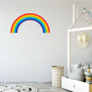 Bright Rainbow Wall Sticker
