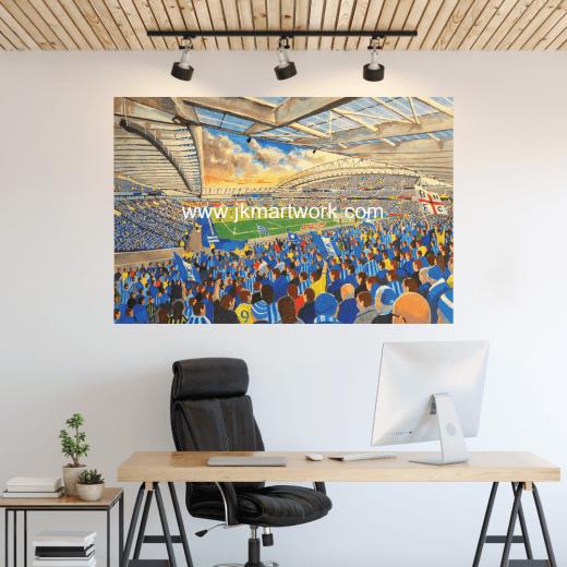 Brighton & Hove Albion, Amex Stadium Football Ground Wall Sticker