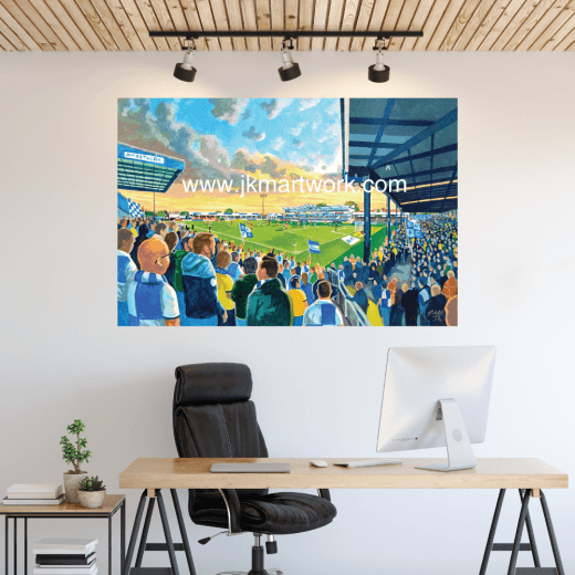 Bristol Rovers, Memorial Stadium Football Ground Wall Sticker