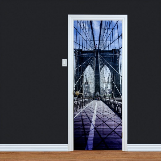 Brooklyn Bridge New York Printed Door