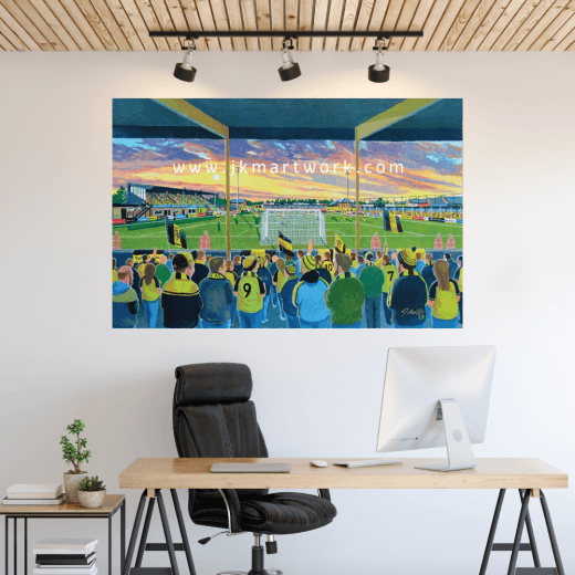 Burton Albion, Eton Park Football Ground Wall Sticker