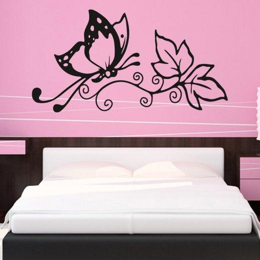 Butterfly Love Wall Sticker