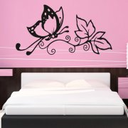 Butterfly Love Wall Sticker