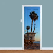 California Beach Printed Internal Door