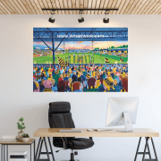 Cambridge United, Abbey Stadium Football Ground Wall Sticker