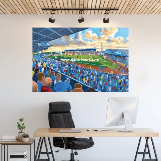 Carlisle United, Brunton Park Football Ground Wall Sticker