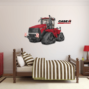 CASE IH QUADTRAC 620 Tractor Wall Sticker c/w CASE Logo