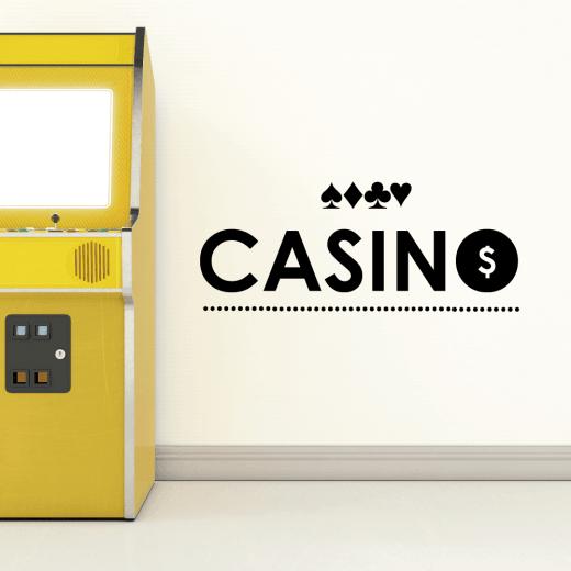 Casino Cards Wall Sticker