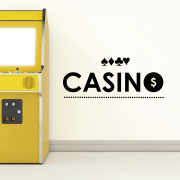 Casino Cards Wall Sticker