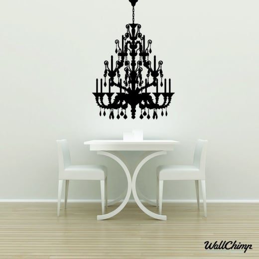 Chandelier 1 Lighting Wall Sticker