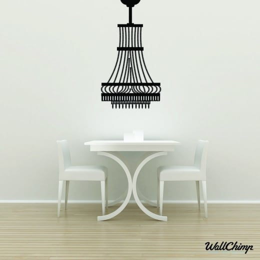 Chandelier 11 Lighting Wall Sticker