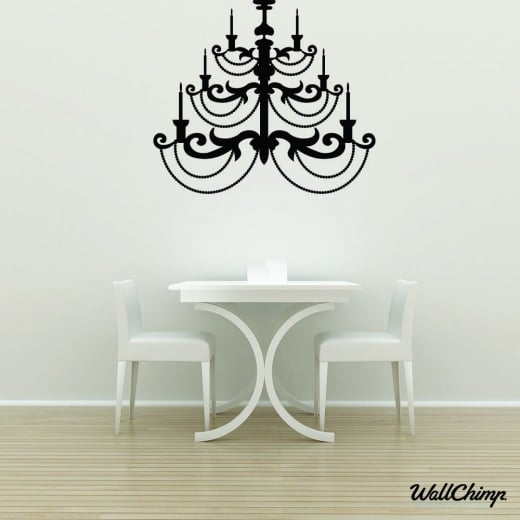 Chandelier 13 Lighting Wall Sticker