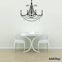 Chandelier 14 Lighting Wall Sticker