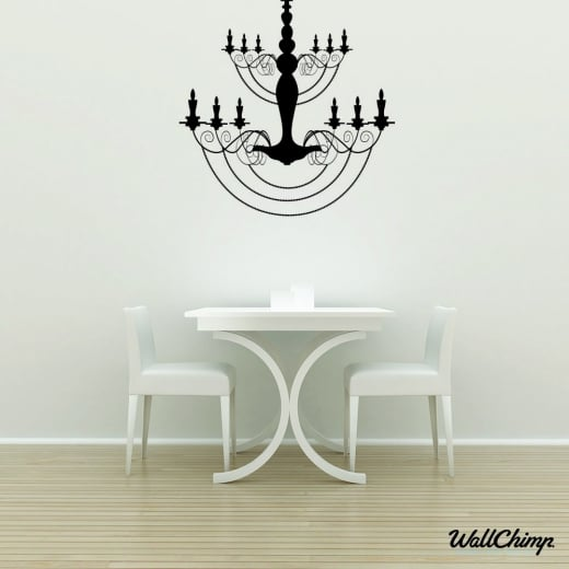 Chandelier 15 Lighting Wall Sticker