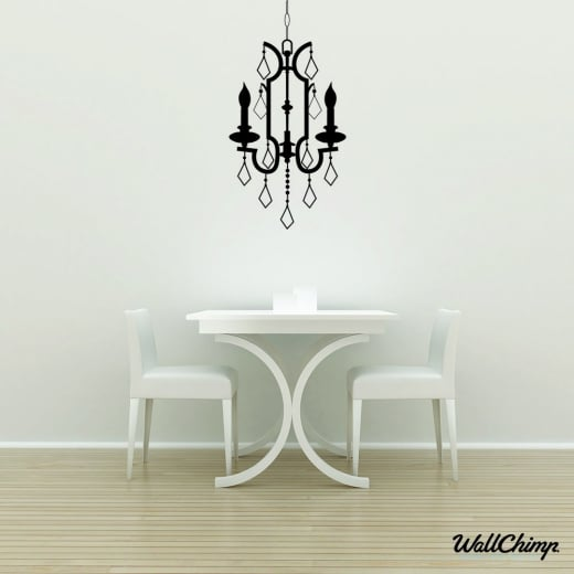 Chandelier 16 Lighting Wall Sticker