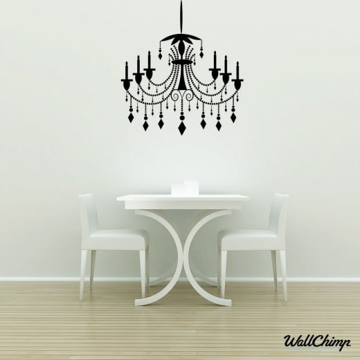 Chandelier 17 Lighting Wall Sticker