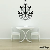 Chandelier 18 Lighting Wall Sticker