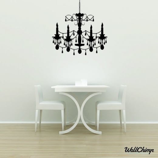 Chandelier 9 Lighting Wall Sticker